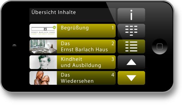 DigiKultur - DigiTour - Ernst Barlach Haus: Übersicht Inhalte