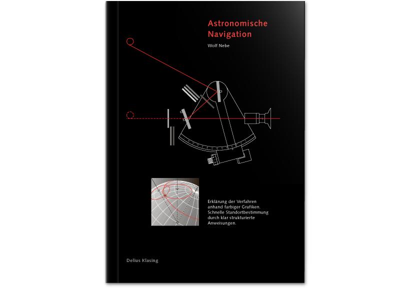 Delius Klasing Verlag – Astronavigation Titelentwurf