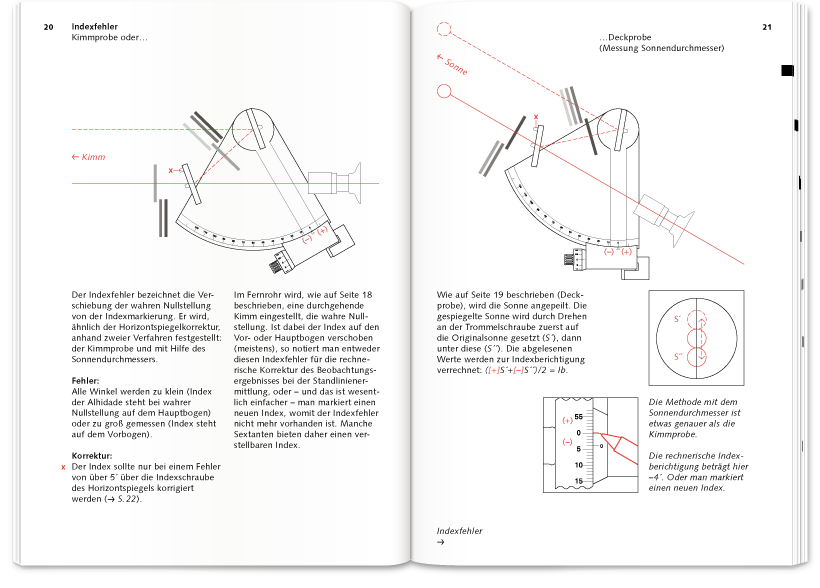 Delius Klasing Verlag – Astronavigation Innenseiten