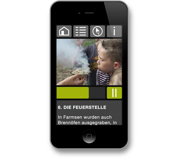 DigiKultur – mgf gartenstadt farmsen - Archäologiepfad: Die Feuerstelle